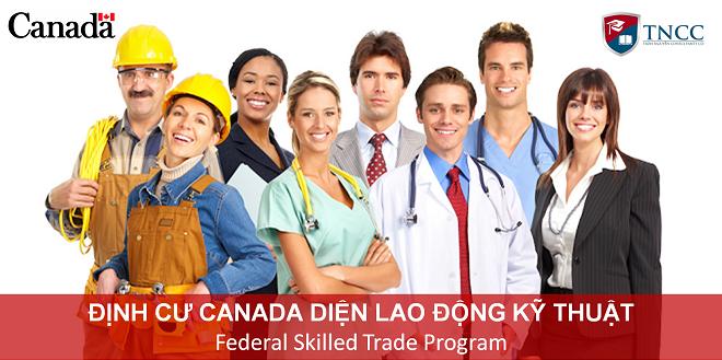 Định cư Canada diện lao động kỹ thuận - TNCC